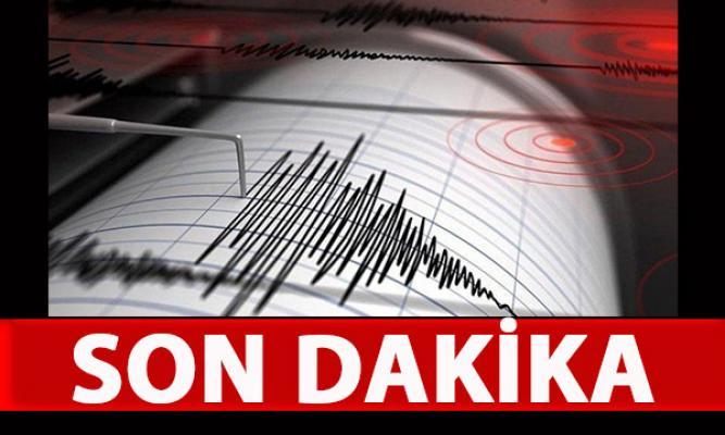 Adana Tufanbeyli'de deprem meydana geldi