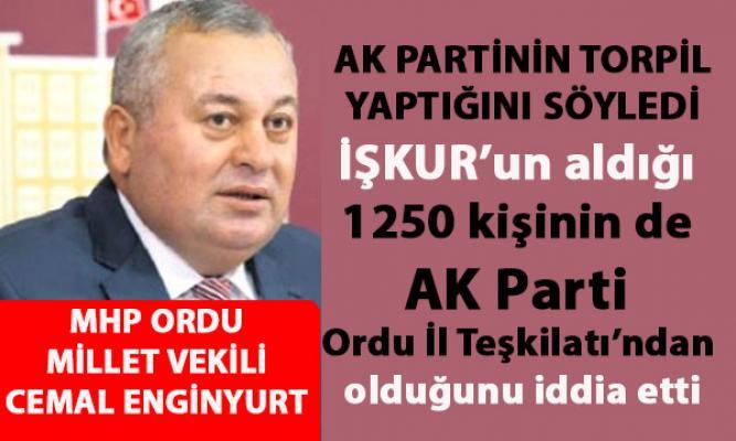 AK Parti torpil yaptı iddiası:  İŞKUR'un aldığı 1250 kişi, AK Parti Ordu İl Teşkilatı'ndan
