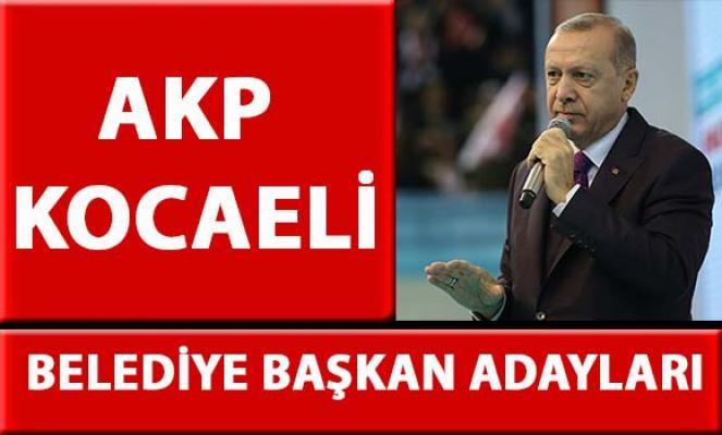 AKP Kocaeli belediye başkan adayları belli oldu