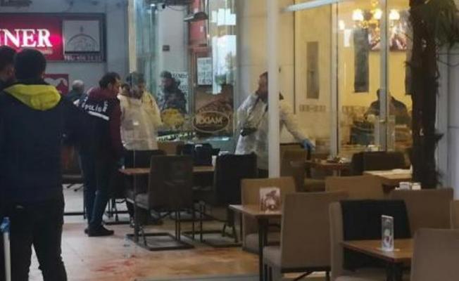 ATAŞEHİR'de bir kafede silahlı saldırı