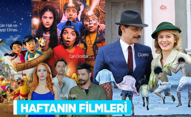 Bu hafta vizyona girecek filmler arasında 3 yerli film yer alıyor