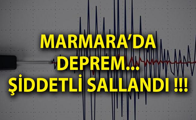 Bursa'da Deprem! Son Dakika Bursa Depremi! Son Depremler Listesi