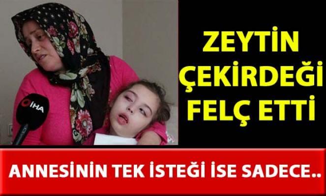 Bursa'da felç olan Ela Nur Aksoy'un annesi kızı için devletten nefes alabilmesi için yürüme robotu istiyor