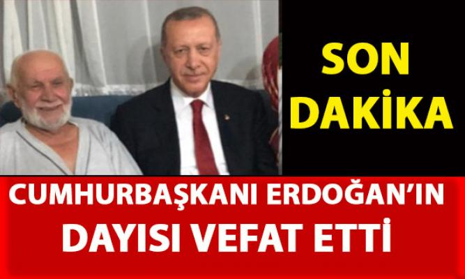 Cumhurbaşkanı Erdoğan'ın dayısı Ali Mutlu Vefat etti