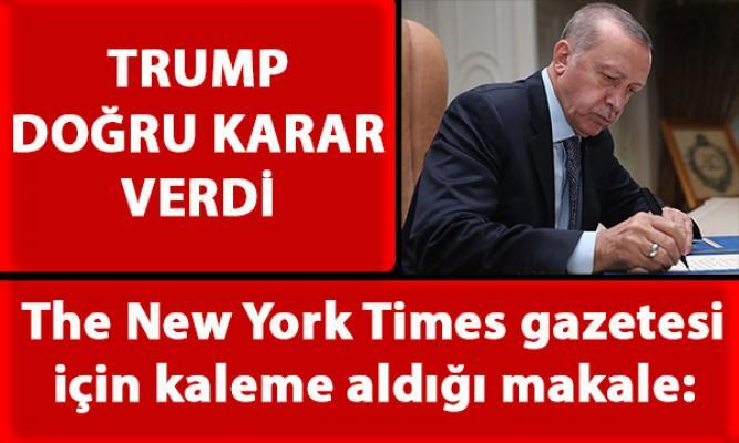 Cumhurbaşkanı Erdoğan'ın The New York Times gazetesi için kaleme aldığı makale