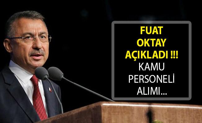 Cumhurbaşkanı Yardımcısı Oktay'dan Kamu Personeli Alımı Hakkında Açıklama