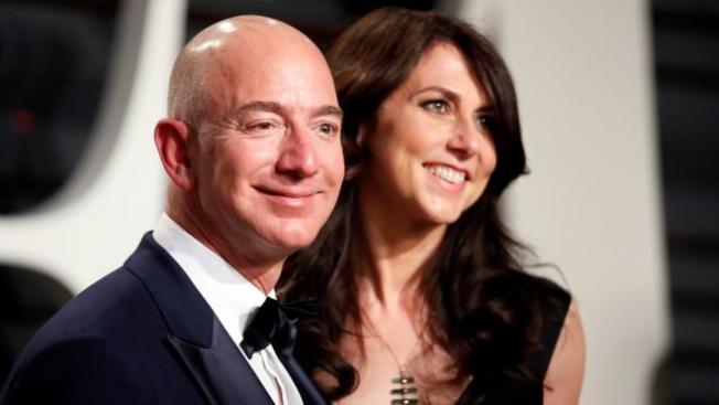 Dünyanın En Zengin Çifti Jeff Bezos Ve Eşi Mackenzie Bezos Boşanıyor!