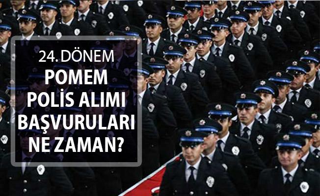 EGM 24. Dönem POMEM Polis Alımı Başvuruları Ne Zaman Alınacak?