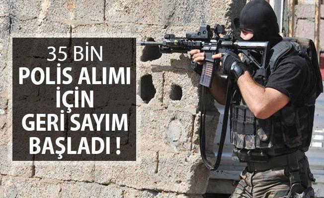 EGM 35 Bin Polis Alımı İçin Geri Sayım Başladı ! POMEM, PMYO, PAEM ve PÖH Alımı