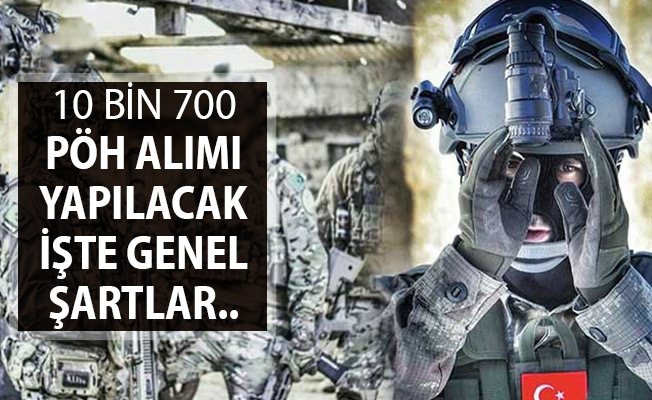 EGM Bünyesinde 10 Bin 700 PÖH Alımı Yapılacak !