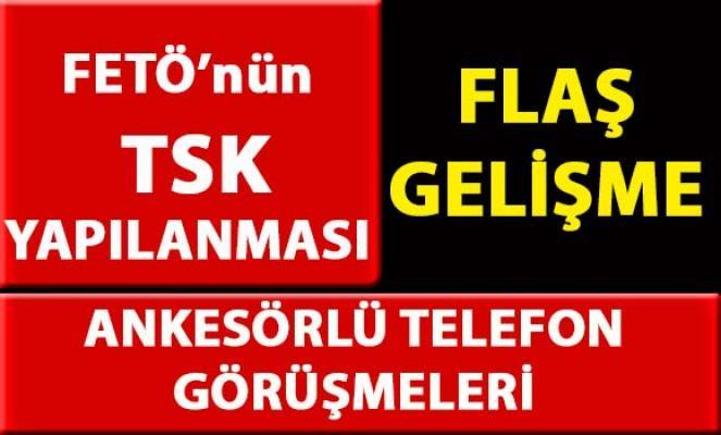 FETÖ TSK yapılanmasına yönelik yapılan 'ankesörlü telefon' soruşturmasında 40 gözaltı