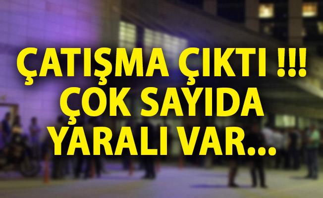 Gaziantep'te Çatışma! Yaralılar Var Ekipler Sevk Edildi