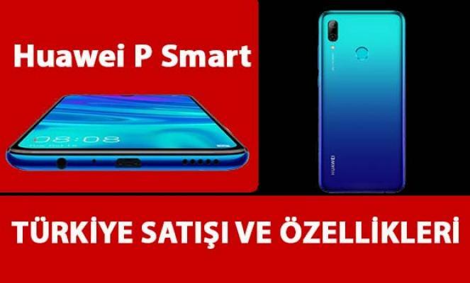 Huawei P Smart cep telefonu fiyatı ve özellikleri...