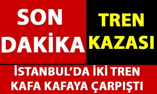İstanbul Florya'da tren kazası! Son dakika