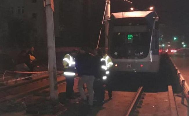 İstanbul Güngören'de Tramvay Kazasında Faciadan Dönüldü!