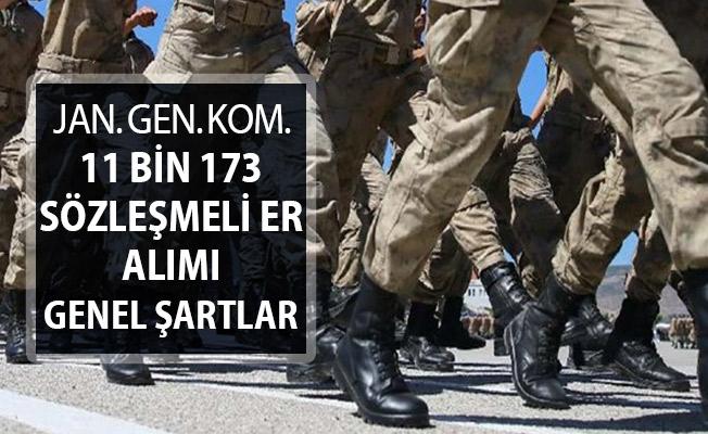 Jandarma Genel Komutanlığı 11 Bin 173 Sözleşmeli Er Alınacak ! İşte Genel Başvuru Şartları