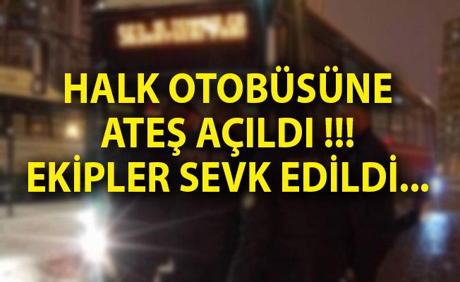 Kayseri'de Halk Otobüsüne Ateş Açıldı! Kayseri Son Dakika Haberi