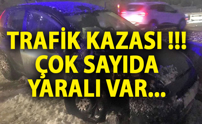 Kırıkkale'de Trafik Kazası! Çok Sayıda Yaralı Var! Kırıkkale Son Dakika Haberi