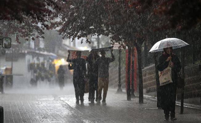Kuvvetli Yağışlar Hakkında Meteoroloji'den Uyarı Geldi