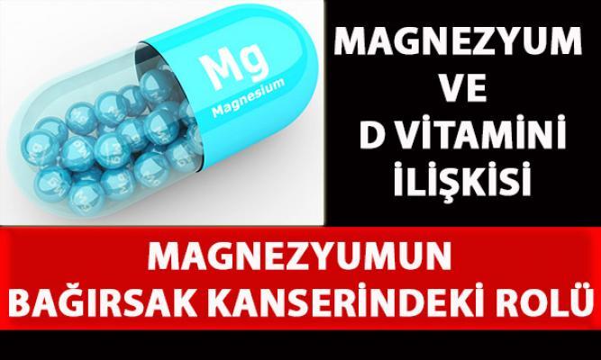 Magnezyum eksikliği, D vitamini sentezini ve metabolizma yolunu kapatıyor