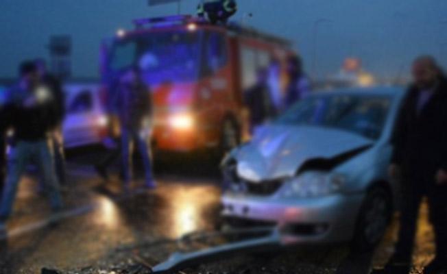 Manisa'da Trafik Kazası! 3'ü Çocuk 7 Kişi Yaralı