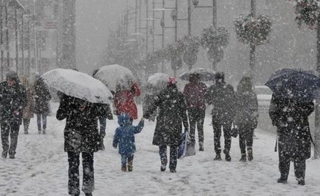 Meteoroloji'den Çok Önemli Kar Yağışı Uyarısı ! Saat Verildi