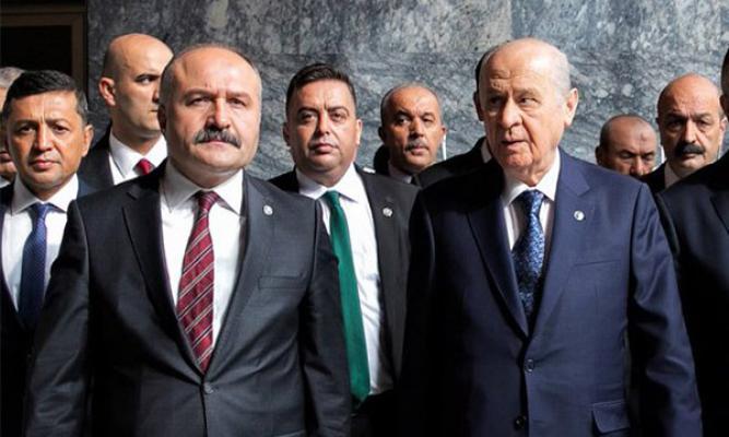 MHP Kurmayı Samsun Milletvekili Erhan Usta AKP'ye Rest Çekti