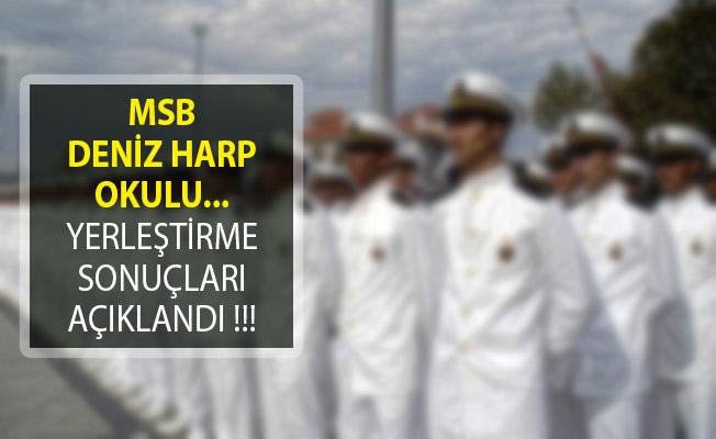 Milli Savunma Bakanlığı Deniz Harp Okulu Yerleştirme Sonuçları Açıklandı!