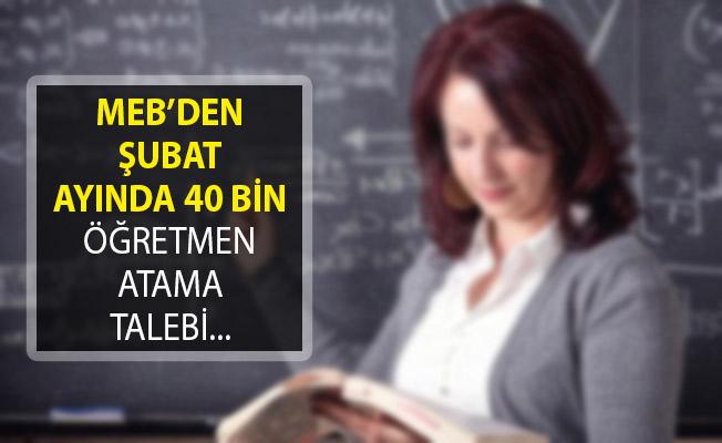 Öğretmen Adayları Şubat Ayında 40 Bin Atama Yapılmasını Talep Ediyor!