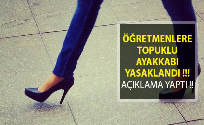 Öğretmenlere Topuklu Ayakkabı Yasaklandı! Dinen Caiz Değil Diyerek Gerekçesini Sundu