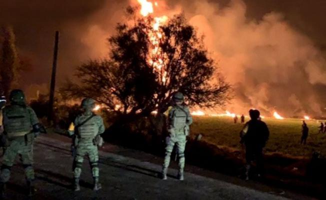 Petrol boru hattı patladı 21 ölü 70 yaralı