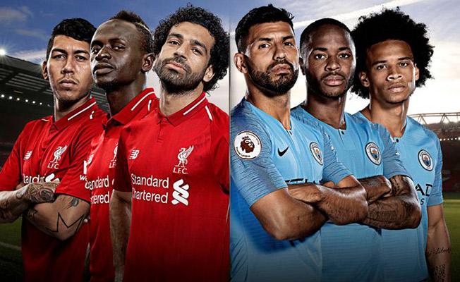 Premier Lig'de Şampiyonluk Maçı! Manchester City- Liverpool