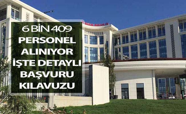 Sağlık Bakanlığı 6 Bin 409 Kamu Personeli Alıyor ! İşte Detaylı Başvuru Kılavuzu