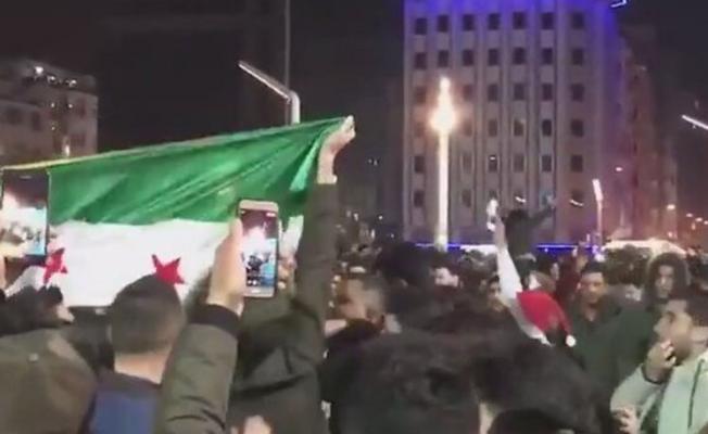 Suriyelilerin taksimde bayrak açması konusu, meclise taşındı