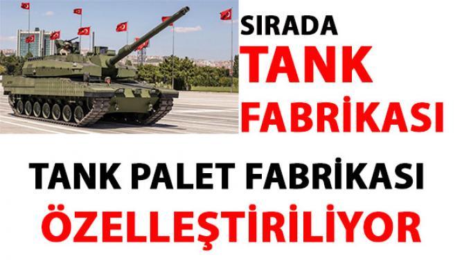 Tank Palet Fabrikası özelleştiriliyor! Hulisi Akar'dan, özelleştirme ile ilgili açıklama geldi!