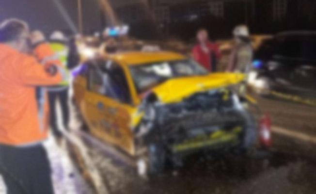 TEM'de Korkunç Trafik Kazası! Trafik Kilitlendi! Ölü Var