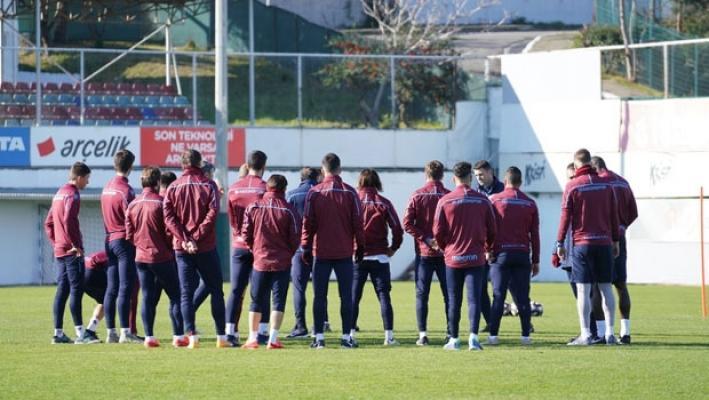 Trabzonspor, Balıkesirspor Baltok ile oynayacağı maçın hazırlıklarına başladı