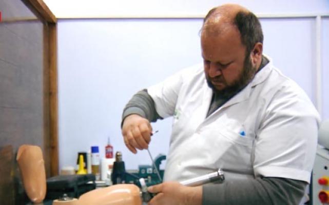 Türkiye'deki yardım kuruluşları Cerablus'ta protez merkezi açtı
