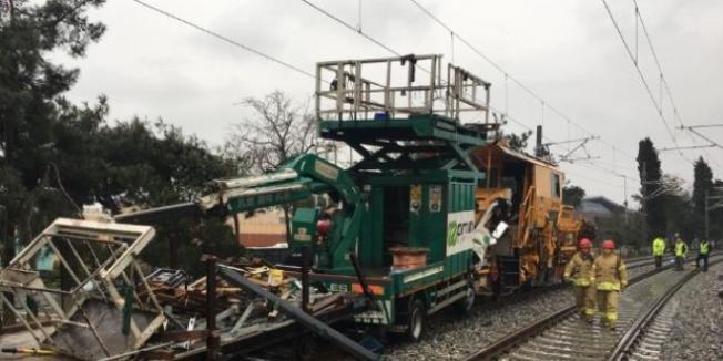 Ulaştırma Bakanlığından Tren Kazası Hakkında İş Makinesi Yorumu