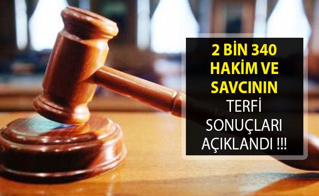 2 Bin 340 Hakim Ve Savcının Terfi Sonuçları HSK Tarafından Açıklandı