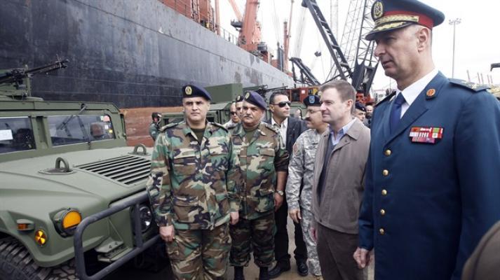 ABD'den Lübnan ordusuna silah yardımı