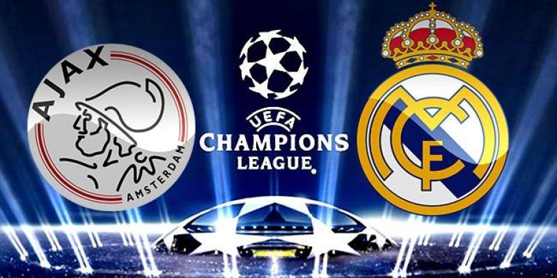 Ajax- Real Madrid Şampiyonlar Ligi Maçı Hangi Kanalda?