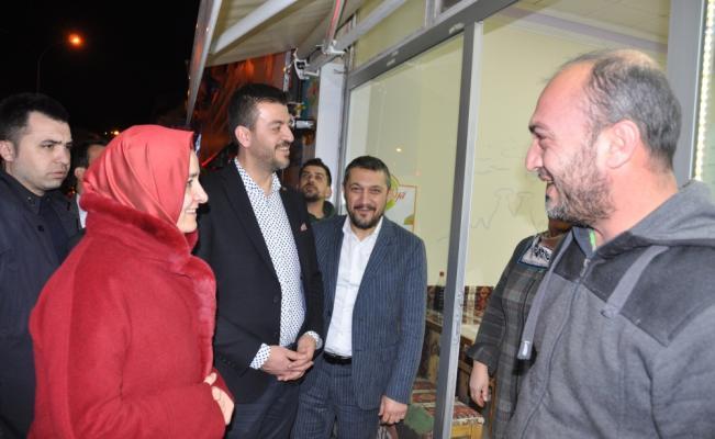AK Parti Genel Başkan Yardımcısı Kaya Nevşehir'de