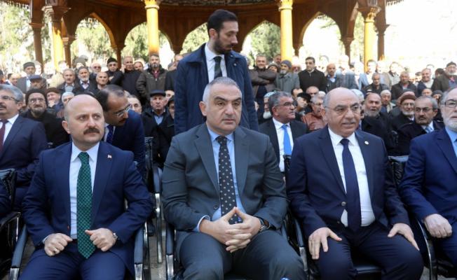 Amasya'da restorasyonu tamamlanan külliyenin açılış töreni
