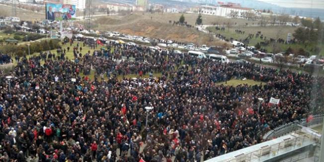 Ankara'da EYT Buluşması ! Binlerce Kişi Katıldı