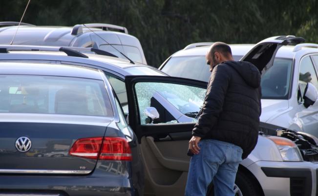 Aydın'da oto galeriye silahlı saldırı