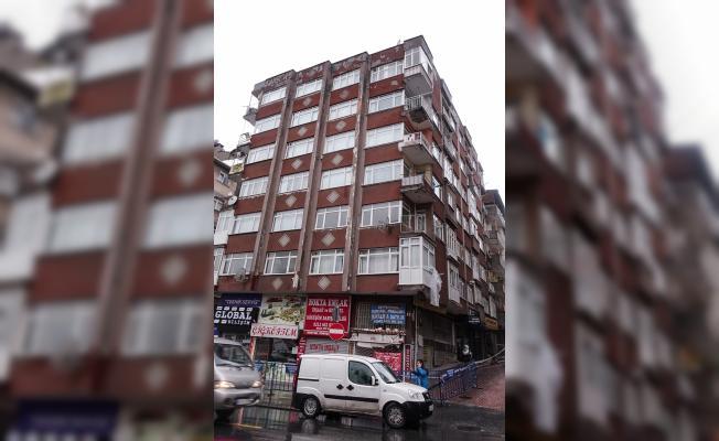 Bahçelievler'de 8 katlı bina boşaltıldı