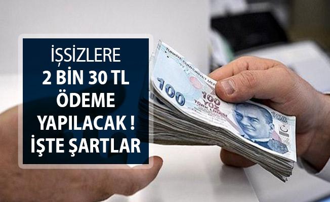 Binlerce Vatandaşa İŞKUR'dan 2 Bin 30 TL Ödeme Veriliyor!