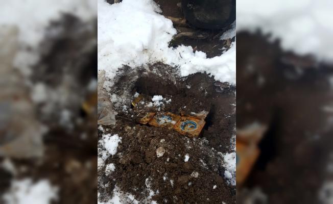 Bitlis'te 200 kilogram patlayıcı imha edildi