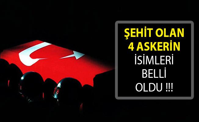 Çekmeköy'de Düşen Helikopter Kazasında Şehit Olan Askerlerin İsimleri Belli Oldu!